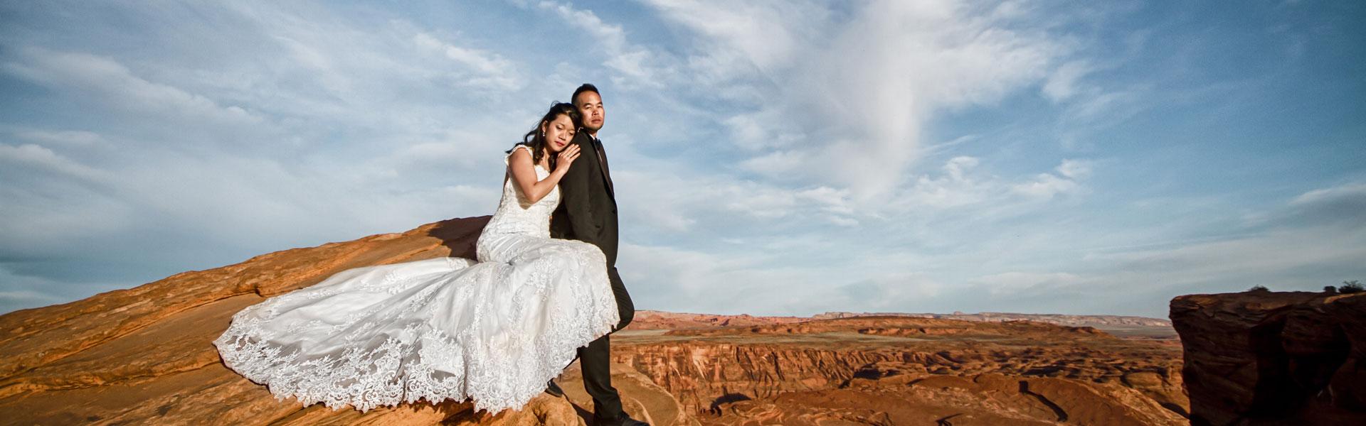 Jocelyne & Olivier Antelope Canyon Utah